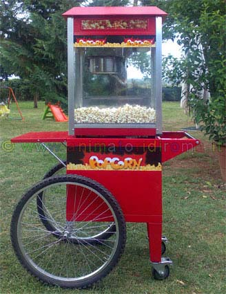 Carretto pop corn.