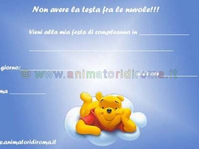 Winnie The Pooh tra le nuvole